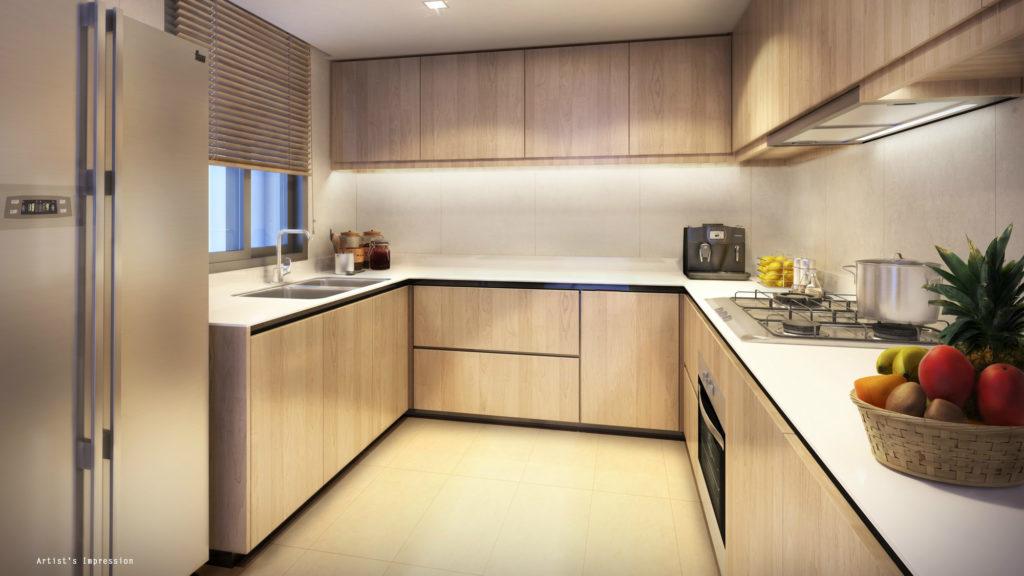 Westwood Residences EC - Kitchen